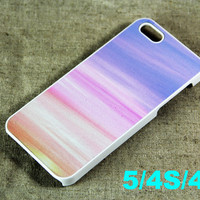Pink and Blue iPhone 5 Scrub Case