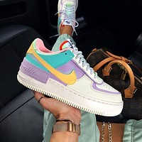 """Nike Air Force 1 Shadow """"Tropical Twist"""" Low Sneakers Shoes"""