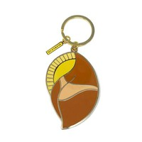 Suns Out Buns Out Keychain