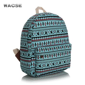 On Sale Comfort College Hot Deal Back To School Canvas Thicken Stylish Casual Backpack [8097637063]
