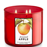 Farmstand Apple 3-Wick Candle | Bath And Body Works