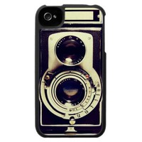 Vintage Camera Case For The Iphone 4 from Zazzle.com