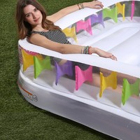 Inflatable Family Lounge Pool - Urban Outfitters