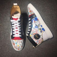 DCCK2 Cl Christian Louboutin Style #2112 Sneakers Fashion Shoes