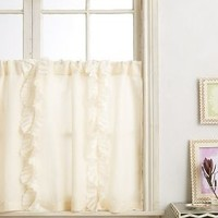 Flutter Cafe Curtain by Anthropologie