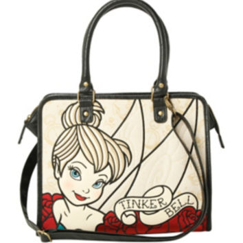 Disney Loungefly Tinker Bell Tattoo Tote Bag