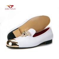 men loafers Italy fashion design men shoes spring  dress loafers