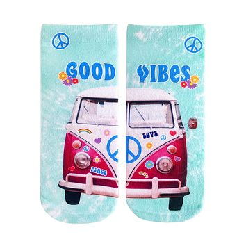 Good Vibes Ankle Socks
