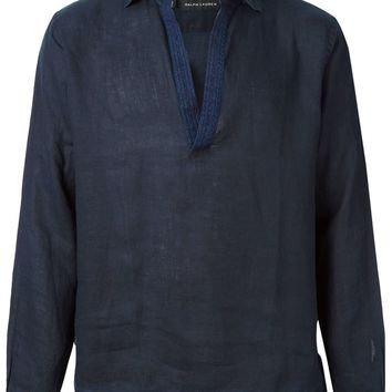 Ralph Lauren embroidered detail shirt