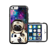 RCGrafix Brand Astranout Space Hipster Sloth iPhone 6 Case - Fits NEW Apple iPhone 6