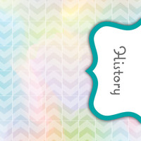 Back to School! Swirly Paint Binder Dividers - History Class