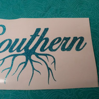 Southern Roots Decal | Southern | Decal | Redneck | Redneck Decal | Monogram | Truck Decal | Southern Girl | Southern Guy | Southern decal
