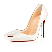 Cl Christian Louboutin So Kate White Aurora Boreale Patent Aurora Boreale 13w Pumps 1170036w073-1