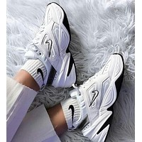 Nike M2K Tekno Retro Men Women Casual Sport Running Shoes Sneakers White