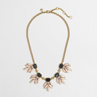 FACTORY STONE LEAVES NECKLACE