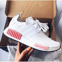 """Adidas"" NMD Men's and Women's Fashion Joker Running Sneakers F"