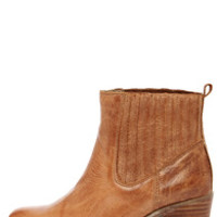 MTNG 93522 Bree Rustico Tan Leather Ankle Boots