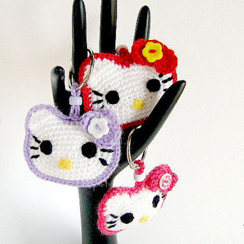 Little Hello Kitty Amigurumi, English Pattern | Hello kitty ... | 354x354