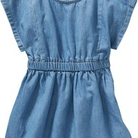 Old Navy Chambray Dresses For Baby