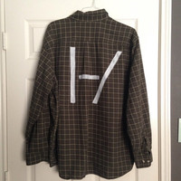 Twenty one pilots handpainted flannel (made to order)