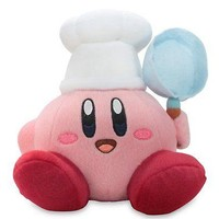 "Little Buddy Official Adventure Cook Kirby 7"" Plush Doll USA Seller Authentic"