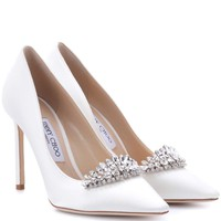 Romy 100 satin pumps