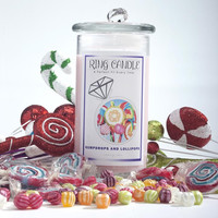 Gumdrops and Lollipops Ring Candle
