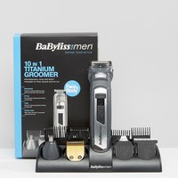 BaByliss for Men 10 in 1 Titanium Grooming System at asos.com