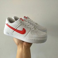 Nike Air Force 1 Unisex Sport Casual Classic Low Help Plate Shoes Couple Fashion Sneakers