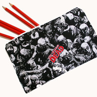 The Walking Dead Pencil Case, Make-up Bag, Coin Pouch