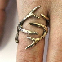 Deer Antler Ring ($65.00) - Svpply