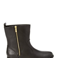 FOREVER 21 Faux Leather Moto Booties