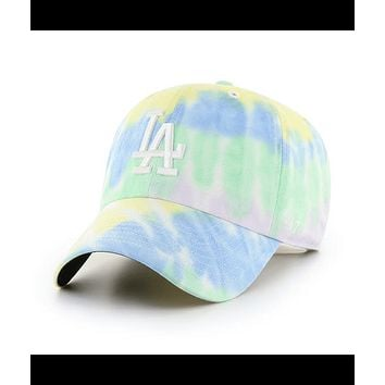 Los Angeles Dodgers White Rio 47 Clean Up