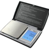 American Weigh Scale Bt2-201 Digital Gram Pocket Grain Jewelry Scale, Black, 200 X 0.01 G
