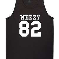 KINGS OF NY Weezy 82 Team Tank Top T-Shirt Jersey Lil Style Fashion Wayne NYC
