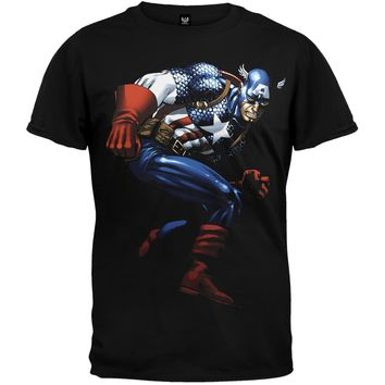 Captain America - Captain Action T-Shirt