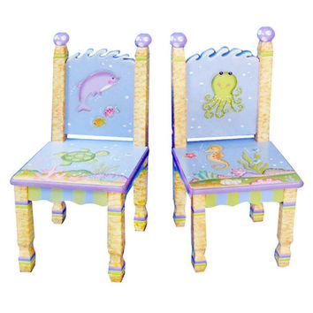 Fantasy Fields - Under The Sea Set of 2 Chairs