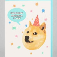 Turtle's Soup Doge Birthday Card