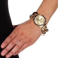 Promo-Gold Chain Watch