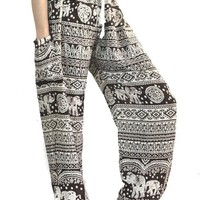 Harem Trousers Women Harem Pants Elephant Pants Jumpsuit Boho Pants Baggy Pants Palazzo Pants Hippie Clothes Thai Pants Gypsy Pants Hippie Maxi Pants Yoga Pants Drop Trouser
