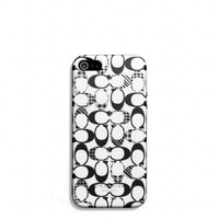 IPHONE 5 CASE IN PATCHWORK SIGNATURE