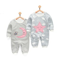 2018 new baby girls boys clothes cute Cartoon baby romper high quality cotton one piece Jumpsuit newborn baby girl clothes