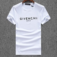 Givenchy Casual Simple Women Men Short Sleeve Shirt Top Tee