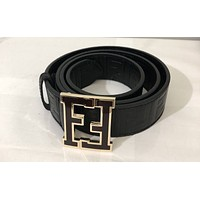 Men's Black Fendi Belt
