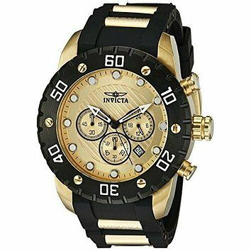 Invicta  Pro Diver 20279  Polyurethane, Stainless Steel Chronograph  Watch
