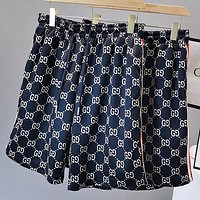 GUCCI Fashion New More Letter Print Shorts Blue
