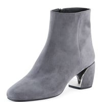 Prada Suede Metal-Heel 55mm Boot