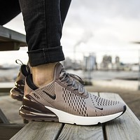 Nike Air Max 270 men's and women's air cushion shoes