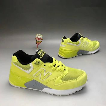 """""""New Balance 580"""" Sport Casual Unisex N Words Scrub Leather Surface Retro Sneakers Couple Running Shoes"""