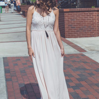 The Blake Maxi in Pink